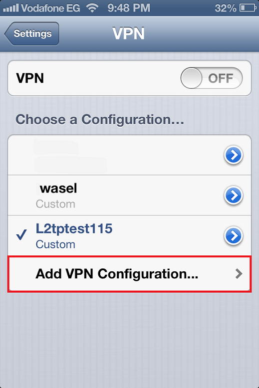 Network drive in vpn